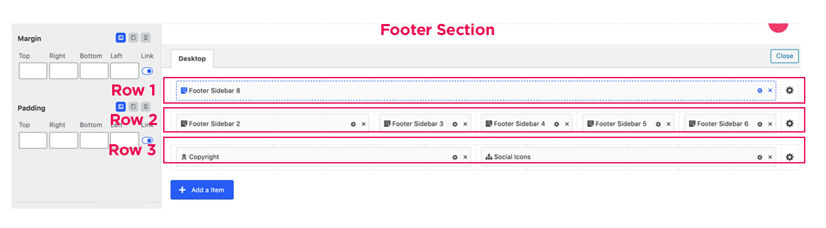 Footer Rows